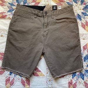 Volcom true to this shorts.